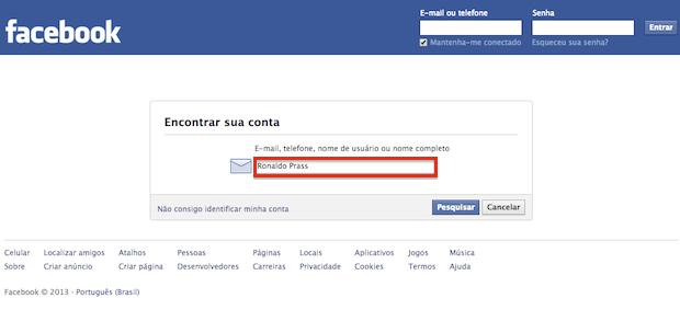 hotmail com entrar facebook