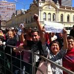 Público está animado para o início do programa (Foto: Luiza Carneiro/RBS TV)