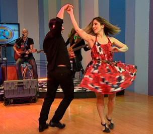 Bailarinos da Arquitetura da Dança (Foto: TV Gazeta (reprodução))