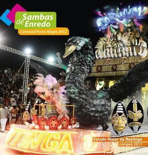 Capa CD Carnaval 2012 RBS TV (Foto: Divulgação, RBS TV)