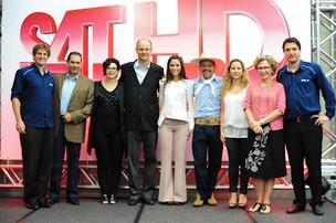Executivos da Rede Globo, Grupo RBS, Elsys e Maria Melilo (Foto: Rafael Marconatto)