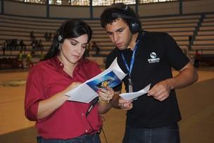Lanne Pacheco e Danilo Mecenas (Foto: TV Sergipe/Divulgação)