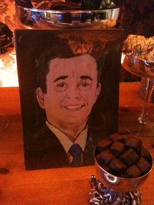Ted Conti versão chocolate (Foto: TV Gazeta)