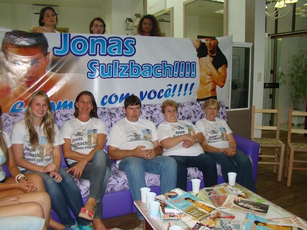torcida jonas (Foto: Divulgação, RBS TV)