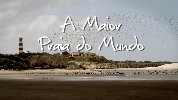 A Maior Praia do Mundo (Foto: Divulgação, RBS TV)