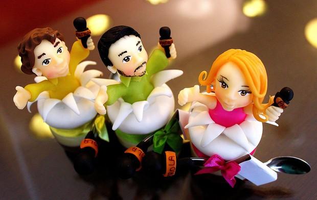 O trio do Patrola também virou doce! (Foto: Veronica De Giacomo)