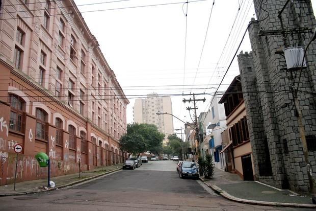 Rua Fernando Machado, no centro da capital (Foto: Ivo Gonçalves/PMPA)