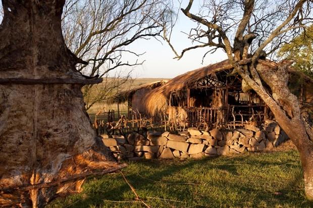 Rancho de Ana Terra (Foto: Jayme Monjardim)