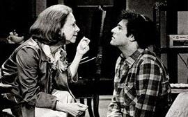 Fernanda Montenegro e Dennis Carvalho em Brilhante (1981)