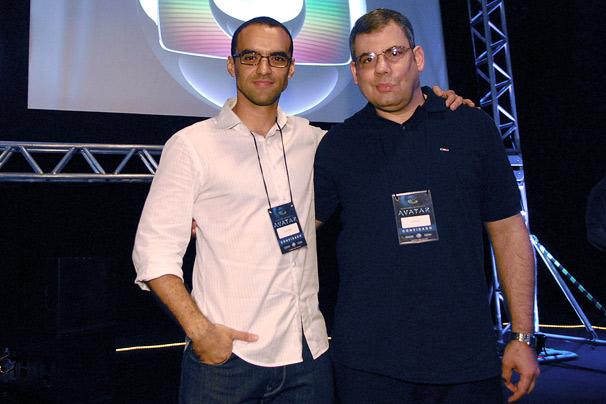 Maurício Mota e Jeff Gomez
