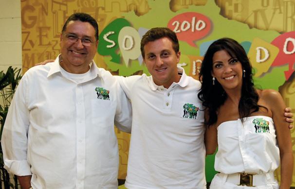 Caldeirão do Huck Soletrando 2010 Luciano Huck Thalita Rebouças Sérgio Nogueira