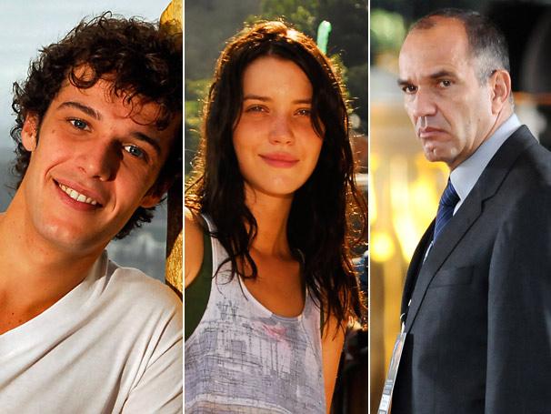 Jayme Matarazzo, Nathália Dill e Humberto Martins