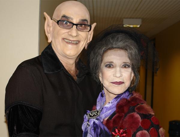 David Pinheiro (Nosferatu) e Martha Morthera (Vampira)