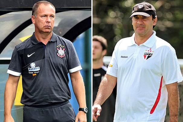 Mano Menezes e Ricardo Gomes fazem duelo dos técnicos no  Pacaembu