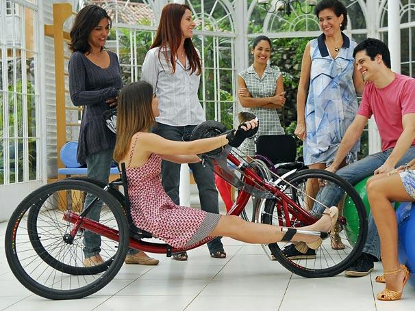 Luciana Alinne Moraes Handbike Miguel Mateus Solano Viver a Vida