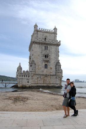 Renata e Felipe em Portugal