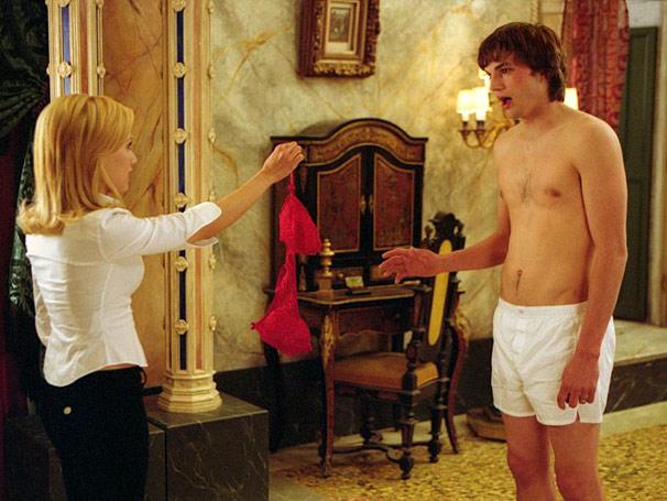 Recém casados - Os problemas do casal formado por Ashton Kutcher e Brittany Murphy começam na lua-de-mel