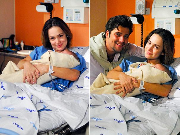 Jéssica (Gabriela Duarte) dá a luz nesta terça, dia 18