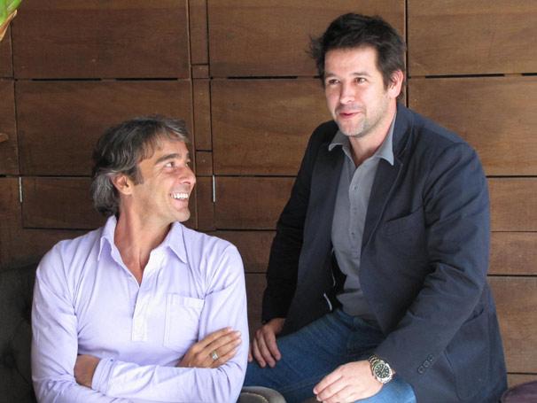 Alexandre Borges e Murilo Benício