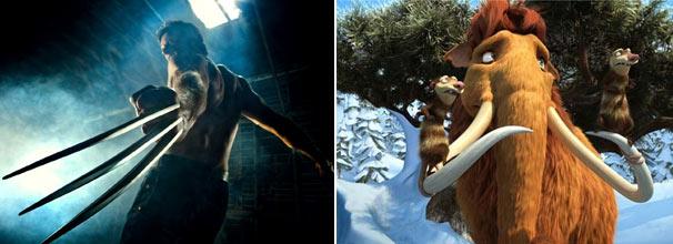 'X-Men Origins: Wolverine' e 'A Era do Gelo 3' são alguns dos filmes que serão exibidos em 2011 na Globo