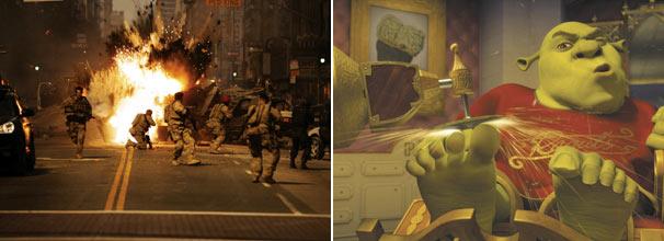 'Transformers' e 'Shrek 3' são exemplos dos filmes da que serão exibidos em 2010