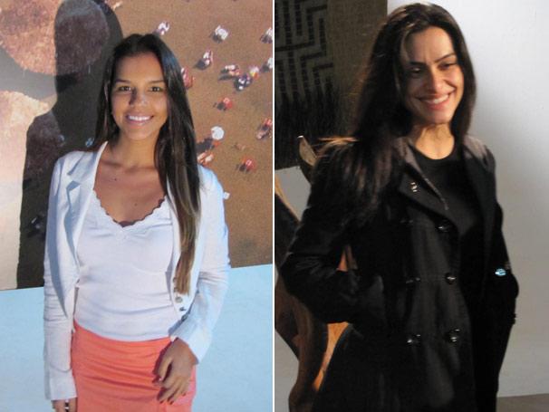 Cleo Pires e Mariana Rios