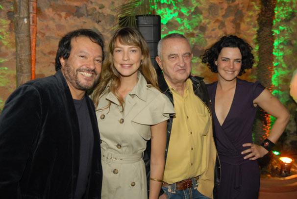 Wolf Maya, Luana Piovani, Antonio Calmon e Ana Paula Arósio