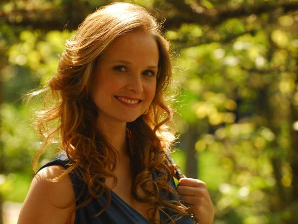 A atriz Luisa ( Fernanda Rodrigues )