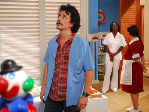 Chico (Edgar Bustamante), Nadir (Maria Gladys) e Lena (Zezé Barbosa)