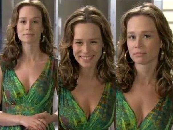 O vestido verde usado pela vilã é objeto de desejo das telespectadoras