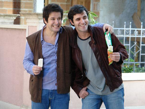 Murilo benício e Rodrigo Lopez