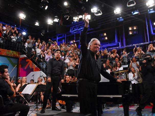 Maestro João Carlos Martins, Maestro Sergei Eleazar de Carvalho e Orquestra Bachiana Filarmônica