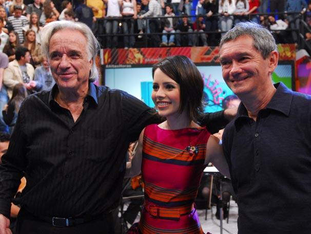 Serginho Groisman, Sandy e Maestro João Carlos Martins