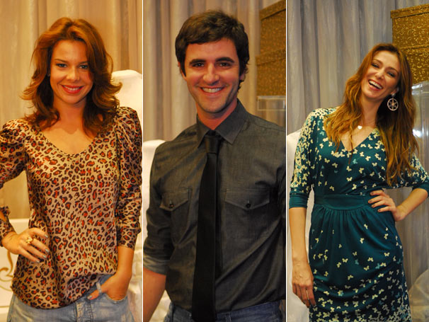 Fernanda Sousa, Rodrigo Lopez e Mônica Martelli