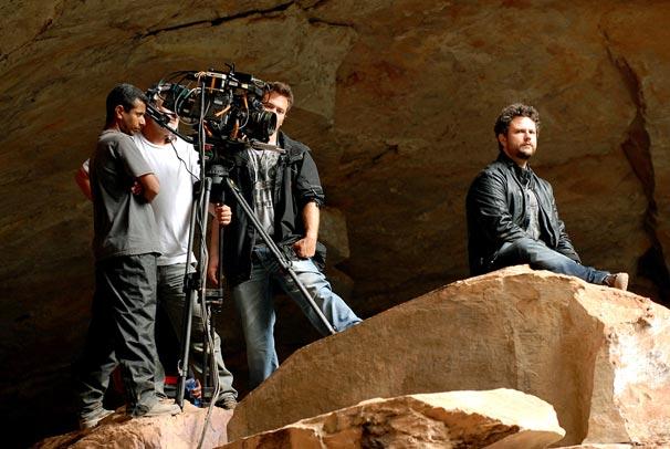 Equipe grava A Cura em Diamantina