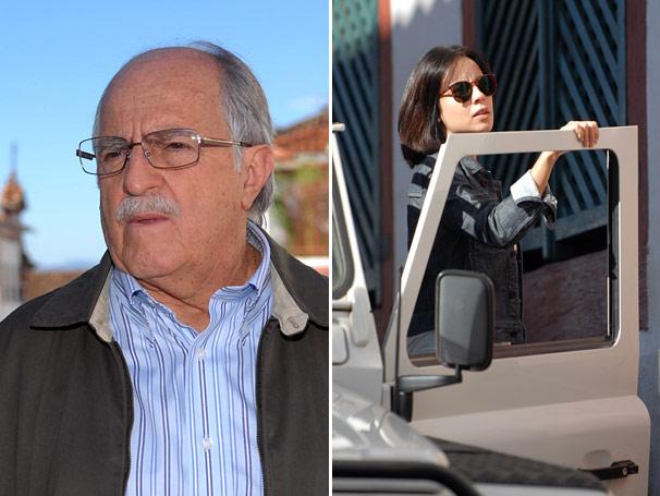 Turíbio ( Ary Fontoura ) e Rosângela (Andréia Horta)