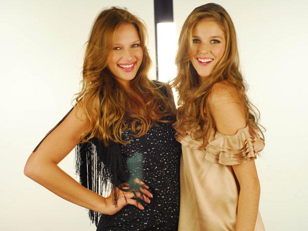 As vencedoras das edições passadas: Regina Krilow e Rafaela Gewehr