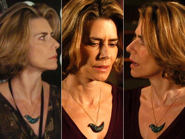 O colar de Stela (Maitê Proença) é um dos itens favoritos da  personagem