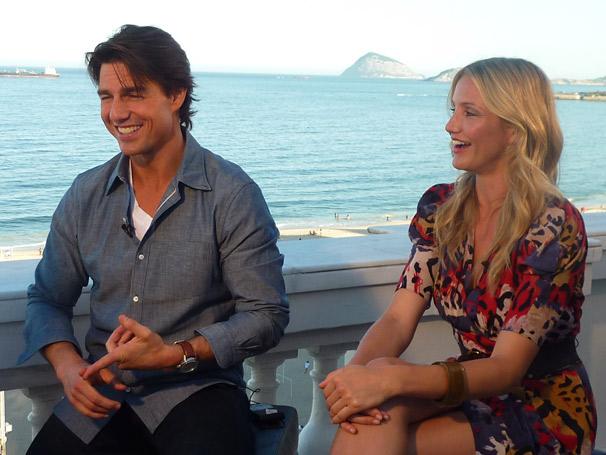 O astro Tom Cruise lembrou as duas outras vezes que foi entrevistado por Patrícia