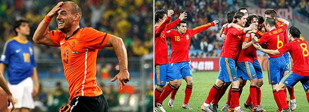 O holandês Sneijder e o time espanhol