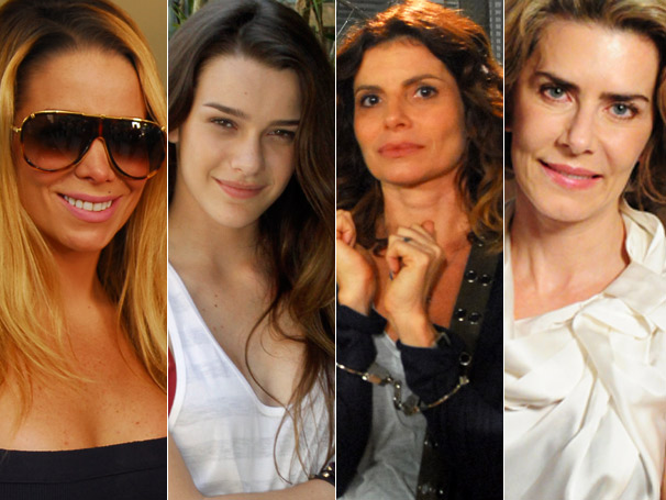As peças de Manuela (Daniela Winits), Bia (Mariana Molina),  Karin (Debora Bloch) e Stela (Maitê Proença) estão entre as mais  pedidas