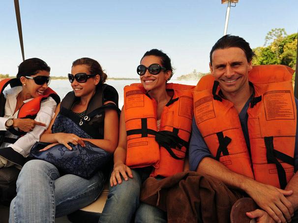 Paula Pereira, Mileena Toscano, Cléo Pires e Murilo Rosa
