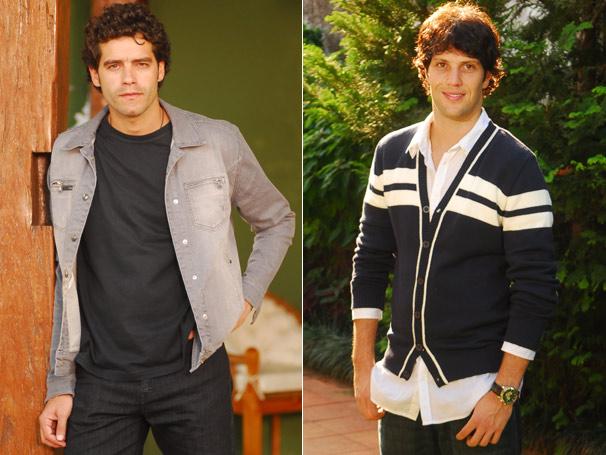 A jaqueta jeans de Renato (Guilherme Winter) e o casaco de Osmar (Gustavo Leão) fizeram sucesso na CAT