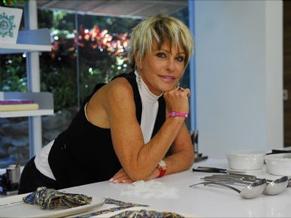 Ana Maria Braga em seu programa matinal Mais Você