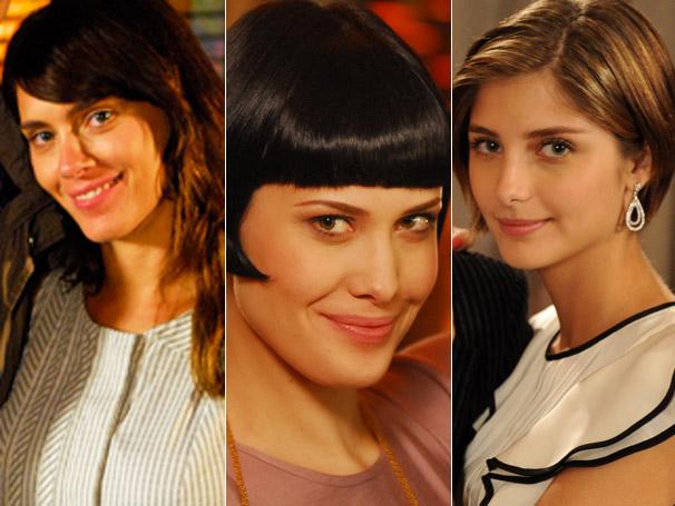 Em Passione: Diana (Carolina Dieckmann), Melina (Mayana Moura) e Lorena (Tammy Di Calafiori) foram as campeãs de pedidos desta semana