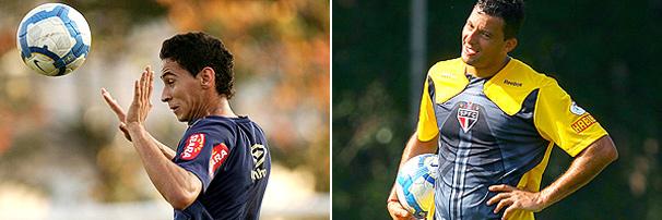 Paulo Henrique Ganso, do Santos, e Washington, do São Paulo, têm presença confirmada no clássico deste domingo