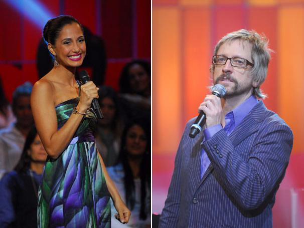 Camila Pitanga e Thedy no Som Brasil em homenagem a Lupicínio Rodrigues