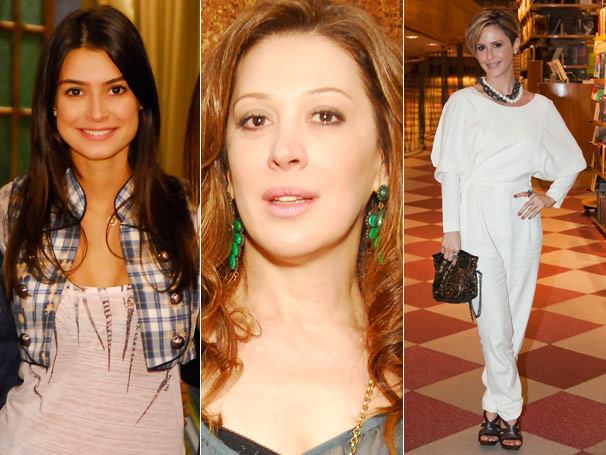 Os looks de Amanda (Thaila Ayala), Jaqueline (Claudia Raia) e Luisa (Guilhermina Guinle) fizeram sucesso na CAT- Fale com a Globo