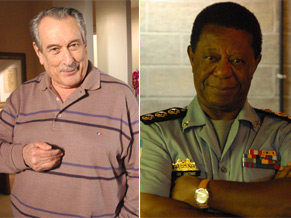 Paulo Goulart e Milton Gonçalves