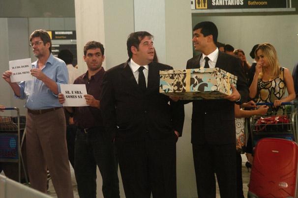 Pedrão (Marcius Melhem) e Jorginho (Leandro Hassum)